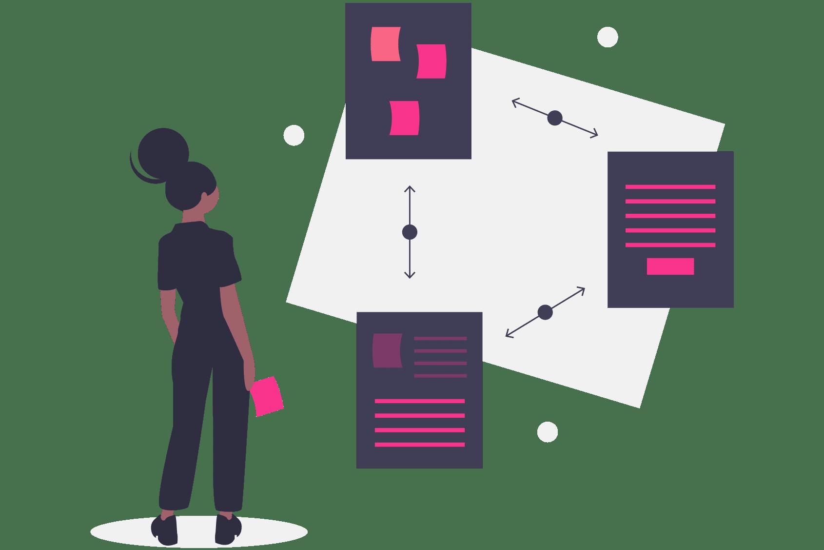 customer journey, digital marketing, graphic design