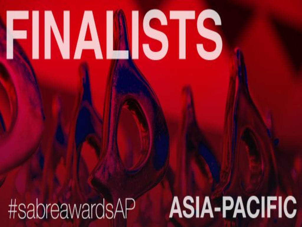 SABRE Awards Asia-Pacific 2020 finalists